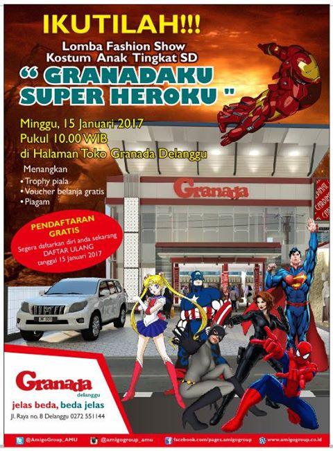 Granadaku Super Heroku