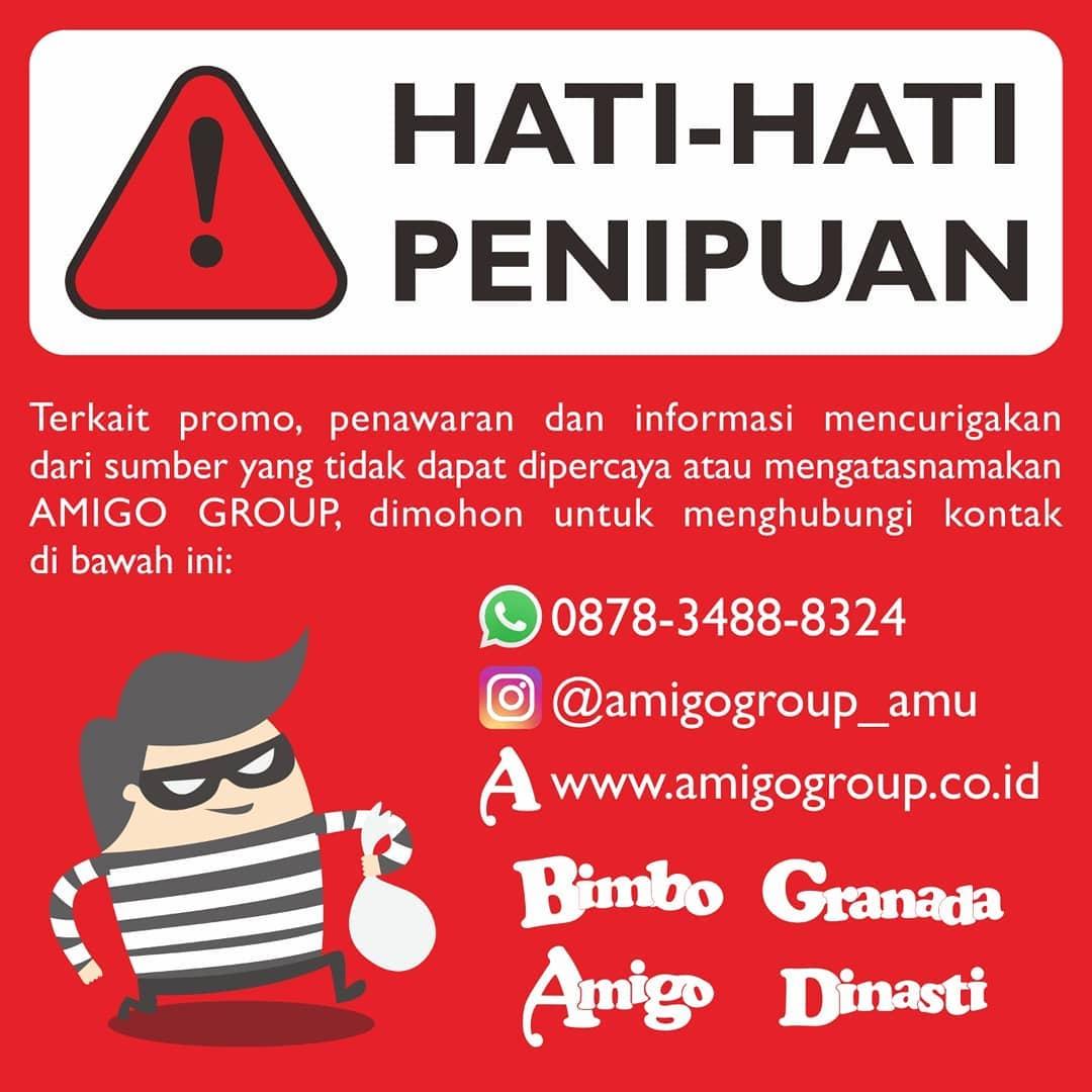 Hati Hati Penipuan Amigo Group